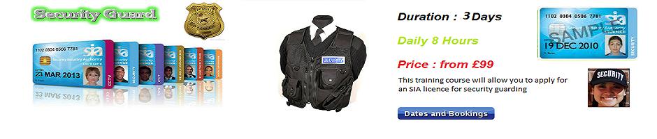 Sia Security Training For Door Supervisor Cctv Security